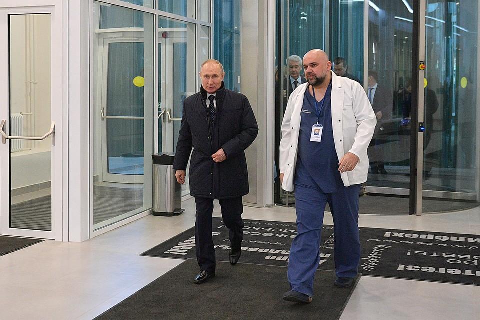 Песков рассказал о поездке Путина в Коммунарку