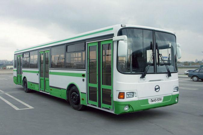 В Пушкине пассажирский автобус