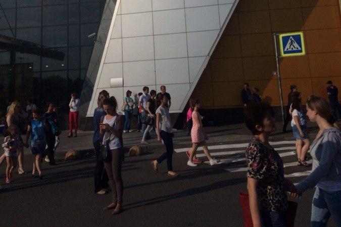 Из торгового центра «Рио»